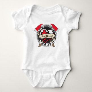 Beställnings- kärlek min brandman t shirt