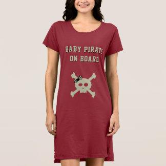 Beställnings- klänning för T-tröja för babypirat Tröja