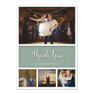 Beställnings- kort för foto för färgbröllop- eller 12,7 x 17,8 cm inbjudningskort