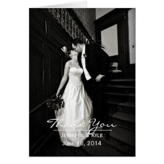 Beställnings- kort för fotobrölloptack