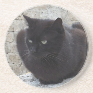 Beställnings- kustfartyg för svart katt underlägg sandsten