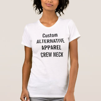 Beställnings- kvinna alternativ App. Rund T Shirts