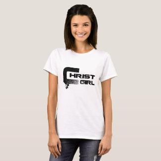 """Beställnings- kvinna """"för Kristusflicka"""" kristna T Shirt"""