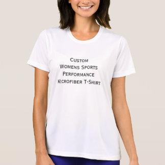 Beställnings- kvinna Microfiber för sportkapacitet T Shirts