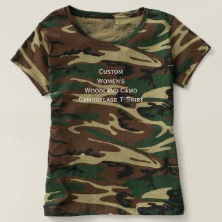 Beställnings- kvinna Tshirt för besättning för T-shirts