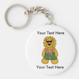 Beställnings- Lioness Keychain Rund Nyckelring