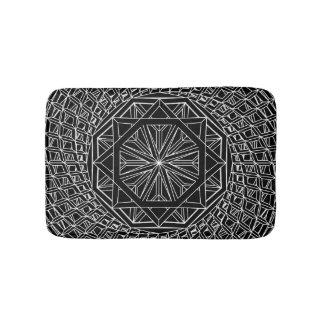 Beställnings- liten badmatta för sakral geometri badrumsmatta
