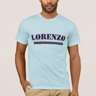 Beställnings- Lorenzo T-shirts