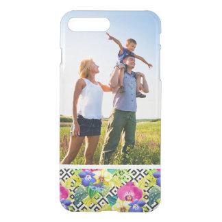 Beställnings- löv för för fotoOrchidBegonia och iPhone 7 Plus Skal