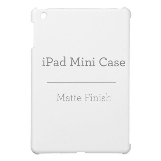 Case Savvy Matt iPad Mini Fodral