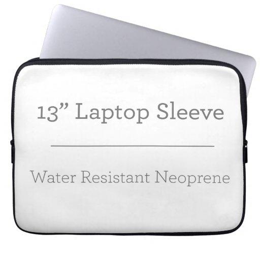 Neoprene Laptop Sleeve 33 cm