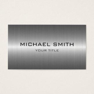 Beställnings- metall för Monogramsilverrostfritt Visitkort