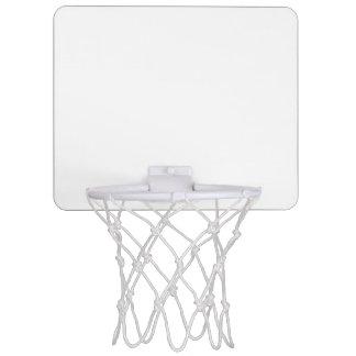 Beställnings- mini- basketmål mini basketplattor