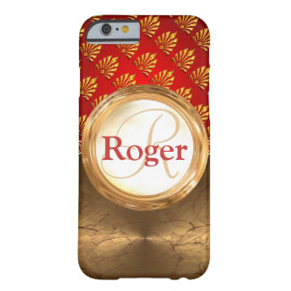Beställnings- Monogram Barely There iPhone 6 Fodral