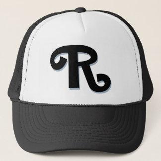 """Beställnings- Monogram för brev """"R"""" Keps"""