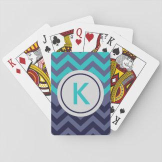 Beställnings- Monogram för sparre för Casinokort