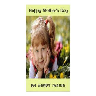Beställnings- mors dagfotokort fotokort