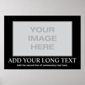 Beställnings- Motivational affisch - beställnings-