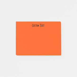 Beställnings- orange post-it block