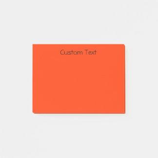 Beställnings- orange/rött post-it block