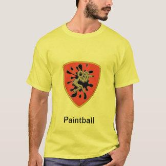 Beställnings- Paintballskjorta Tee