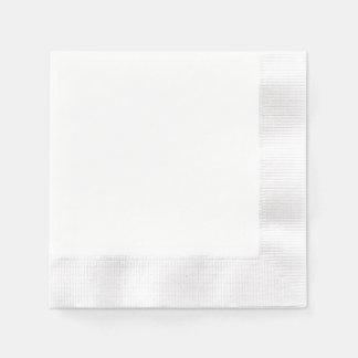 Beställnings- Pappersservett - myntad vit