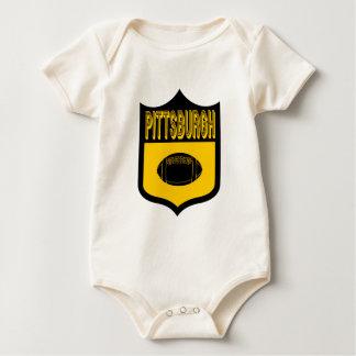 Beställnings- Pittsburgh skyddar logotypen Sparkdräkt