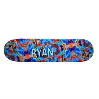 Beställnings- Retro däck för Old School Skateboard Bräda 21,6 Cm