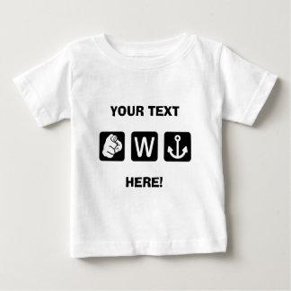 Beställnings- roligt ankrar du W den begynna T-shirt