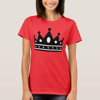 Beställnings- rött/Blk CrownT T-shirt