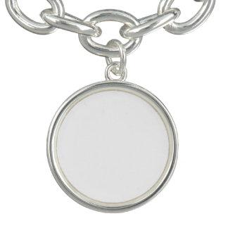 Beställnings- rundaberlockarmband armband