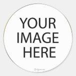 Beställnings- rundakuvertsälar/klistermärkear rund klistermärke