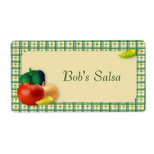 Beställnings- salsaetikett fraktsedel
