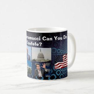 Beställnings- Scaramucci kan dig göra Covfefen? Kaffemugg