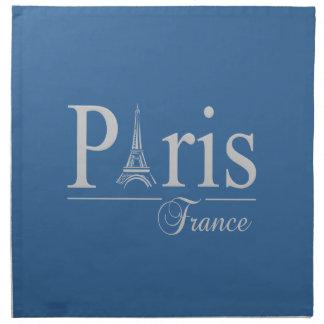 Beställnings- servetter för Paris frankriken - väl