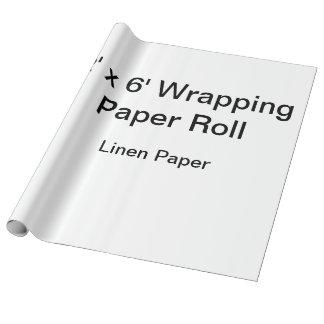 Beställnings- slående in papper (rulle 2x6, presentpapper