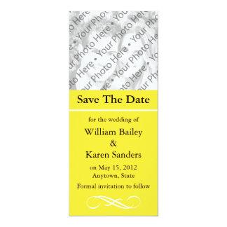 Beställnings- spara datum meddelande eller 10,2 x 23,5 cm inbjudningskort