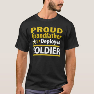 Beställnings- stolt farfar av en utplacerad soldat tröja