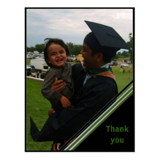 Beställnings- studententackkort - triangel vykort