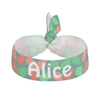 Beställnings- tie för hår för grönt för hårband