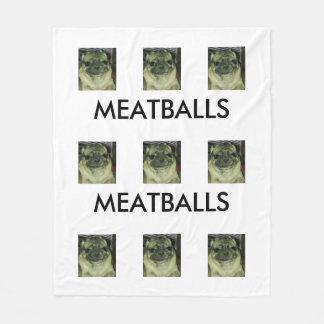 Beställnings- ullfilt för MEATBALLS, medel Fleecefilt