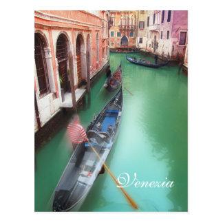 Beställnings- Venedig kanalvykort Vykort
