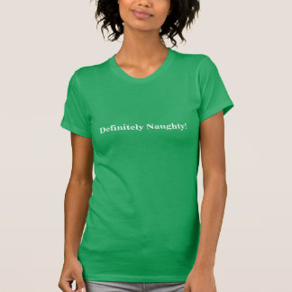 Bestämt stygg grönt! T-tröja