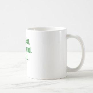 Bestest pojkvän någonsin kaffemugg