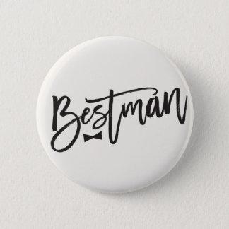 Bestman borstar flugabröllopbrudens sida knäppas standard knapp rund 5.7 cm