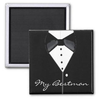 Bestman bröllopsmoking magnet