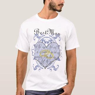 Bestman T-tröja - med denna ring mig den Thee T Shirt
