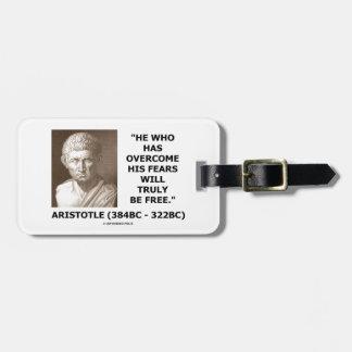 Betagna Aristotle hans skräck som riktigt ska, är Bagagebricka