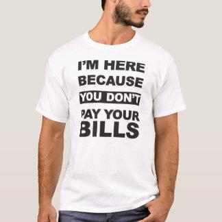 Betala dina räkningar tee shirts