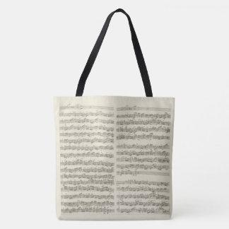 Beteckningssystem för musik för Bach Tygkasse